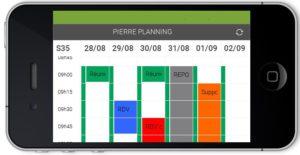 Visualisation mode paysage - App mobile Serenovia