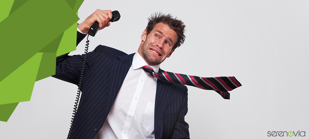 gestion clients difficiles telephone